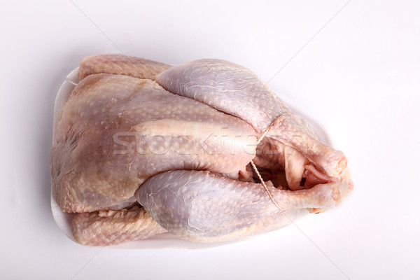 Raw chicken for cooking Stock photo © nailiaschwarz