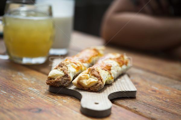 Sweet fresh Pastry Stock photo © nailiaschwarz