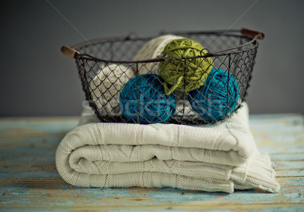Balls of Wool Stock photo © nailiaschwarz