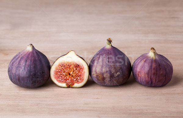 新鮮な 果物 木製のテーブル テクスチャ 木材 ストックフォト © nailiaschwarz
