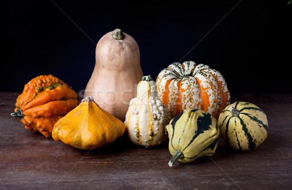 Pumpkins Stock photo © nailiaschwarz