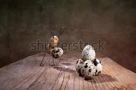 Simple Things Easter Bunny Stock photo © nailiaschwarz