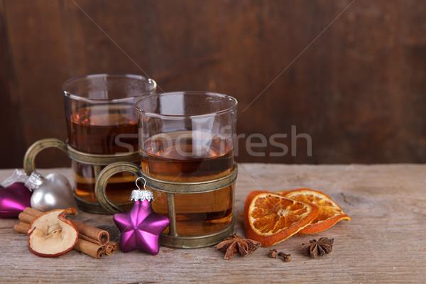 Spiced Fruit Tea Stock photo © nailiaschwarz