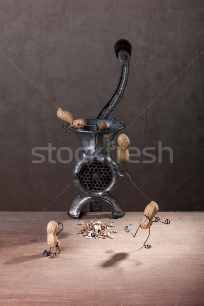 In the Meat Grinder Stock photo © nailiaschwarz