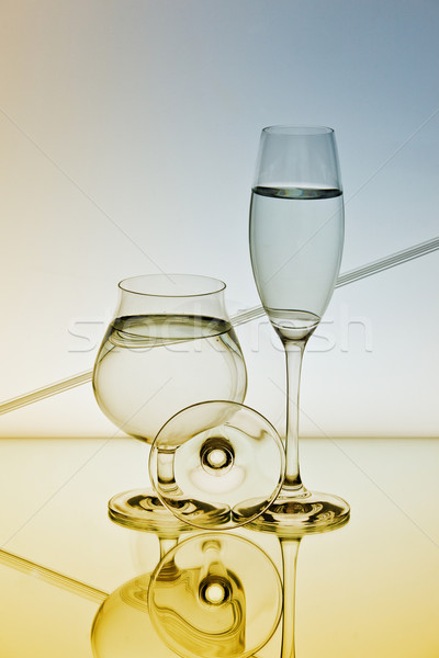 Reflection and Refraction Stock photo © nailiaschwarz