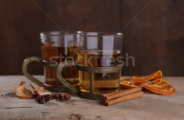 Spiced Fruit Tea Stock photo © nailiaschwarz