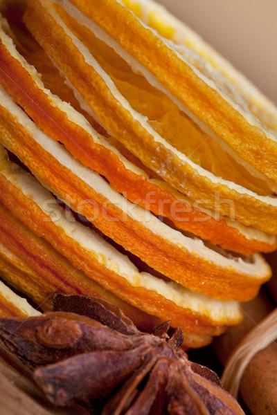 оранжевый корицей анис сушат продовольствие Сток-фото © nailiaschwarz