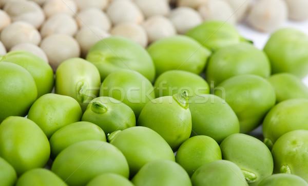 Peas isolated on White Stock photo © nailiaschwarz