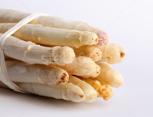 Fraîches asperges blanche prêt utilisé Photo stock © nailiaschwarz