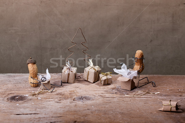 Christmas Presents Stock photo © nailiaschwarz