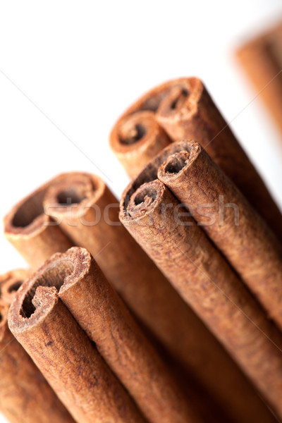 Cinnamon sticks Stock photo © nailiaschwarz