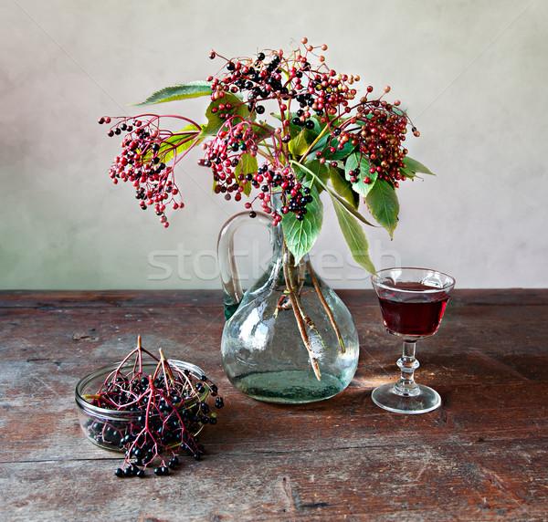 Elderberries Stock photo © nailiaschwarz
