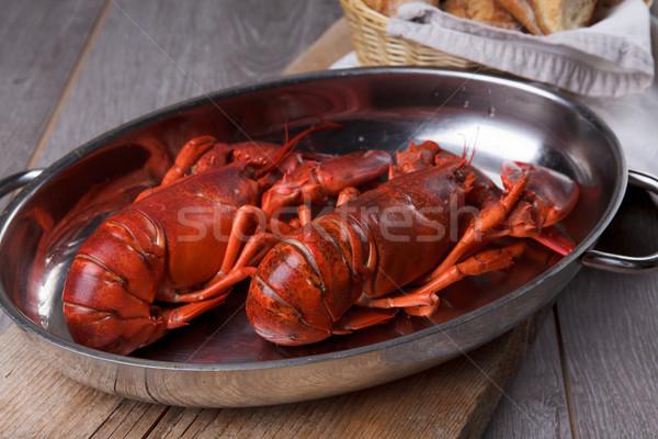Cooked Lobster Stock photo © nailiaschwarz