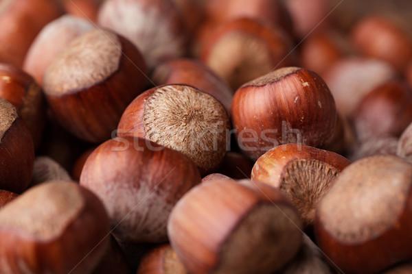 Hazelnuts Stock photo © nailiaschwarz