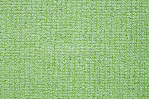 Green clean microfiber kitchen duster texture fullframe Stock photo © nalinratphi
