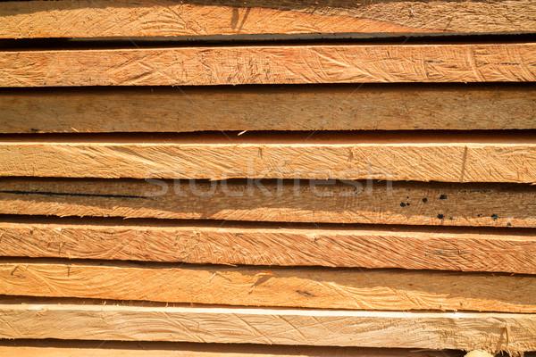 Fa építkezés épületek stock fotó fa Stock fotó © nalinratphi