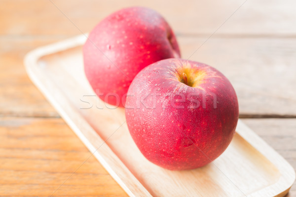 Freshly picked red gala apples  Stock photo © nalinratphi