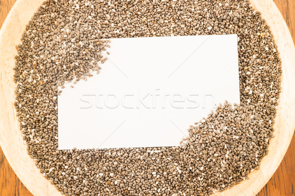 Nutritifs semences carte de visite stock photo affaires Photo stock © nalinratphi