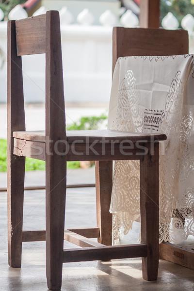 Wood chair  Stock photo © nalinratphi
