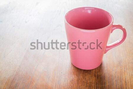 Belo estilo café estoque Foto stock © nalinratphi