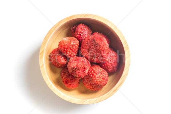 健康 イチゴ ぱりぱり 孤立した 白 在庫 ストックフォト © nalinratphi