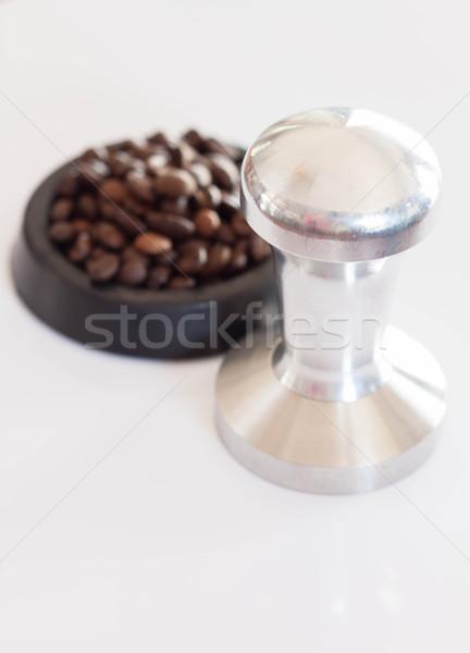 Ciężki aluminium ogólny narzędzie barista kawy Zdjęcia stock © nalinratphi