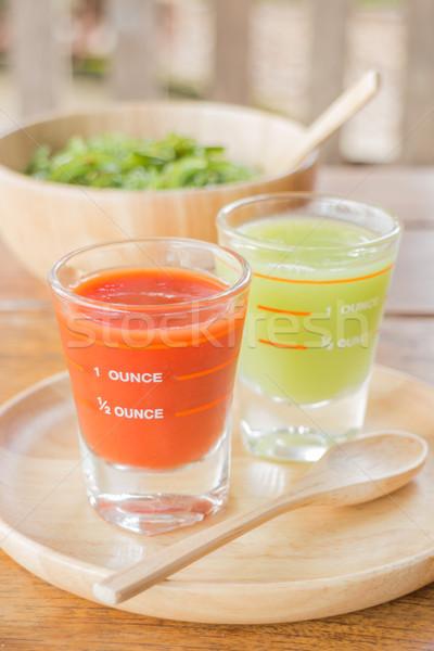 Dieta stock foto alimentos frutas Foto stock © nalinratphi