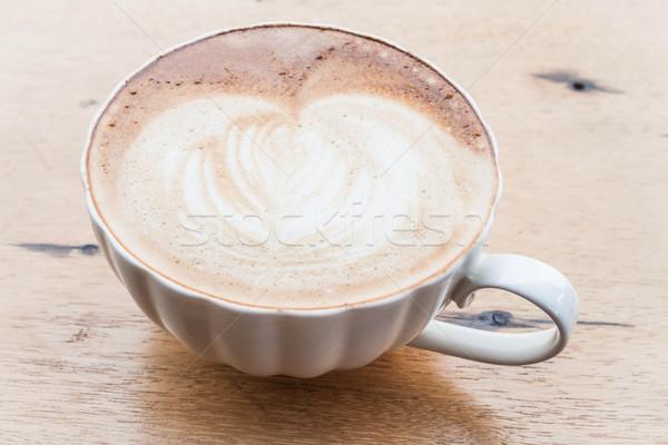 Сток-фото: свободный · горячей · кофе · искусства · Кубок