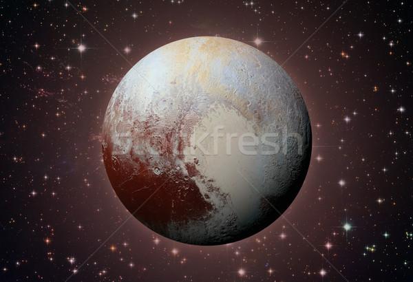 Sistema solar plutón enano planeta cinturón anillo Foto stock © NASA_images