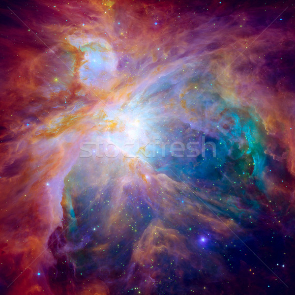 Hubble panoramic view of Orion Nebula reveals thousands of stars Stock photo © NASA_images