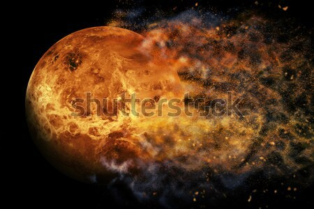 Planet Explosion - Jupiter. Elements of this image furnished by NASA Stock photo © NASA_images
