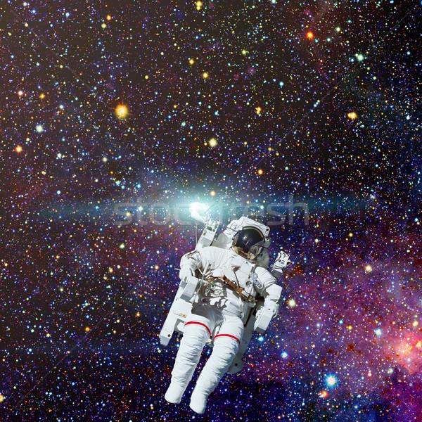 Astronot uzay boşluğu nebula Yıldız elemanları görüntü Stok fotoğraf © NASA_images
