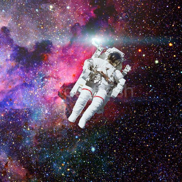 űrhajós világűr csillagköd elemek kép nap Stock fotó © NASA_images