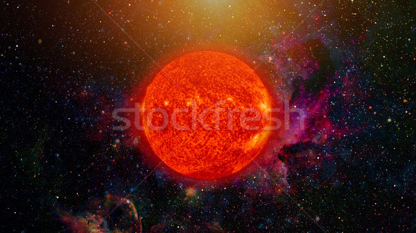 Solar System - Sun. Elements of this image furnished by NASA. Stock photo © NASA_images