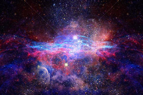 Nebulosa stelle profondità spazio misterioso universo Foto d'archivio © NASA_images