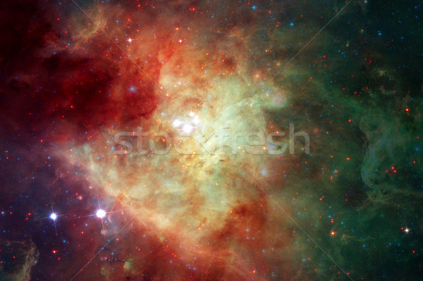 Nebula, galaxy and stars. Elements of this image furnished by NASA. Stock photo © NASA_images