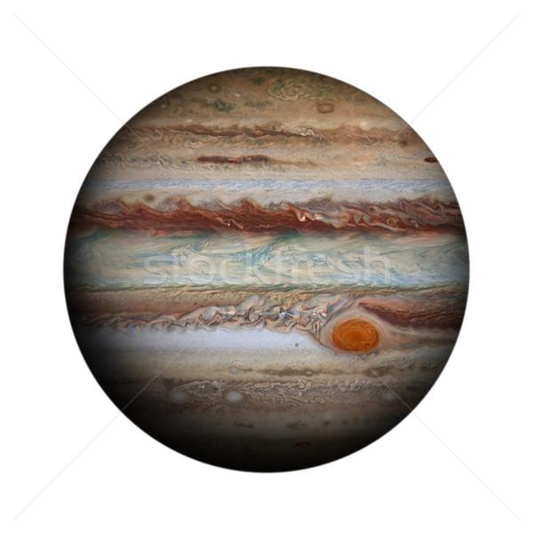 Sistema solar isolado planeta branco elementos imagem Foto stock © NASA_images