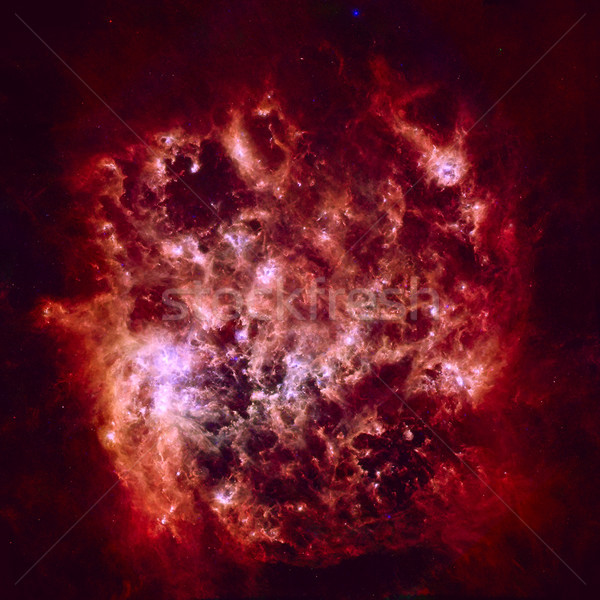 Infrared Portrait of the Large Magellanic Cloud. Stock photo © NASA_images