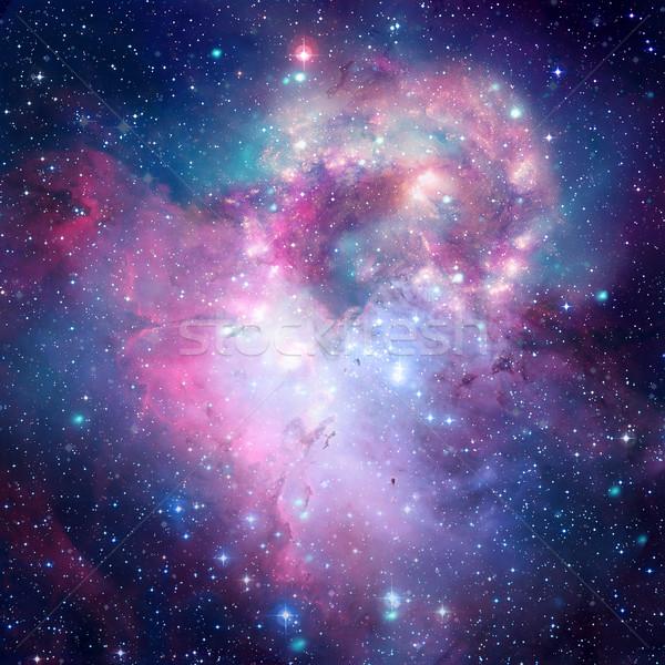 Colorato spazio nebulosa elementi immagine stelle Foto d'archivio © NASA_images