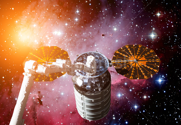 The Cygnus spacecraft in open space. Stock photo © NASA_images