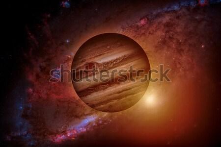 Naprendszer negyedik bolygó nap vékony légkör Stock fotó © NASA_images