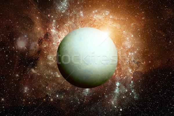 Сток-фото: планеты · Элементы · изображение · Солнечная · система · солнце · гигант