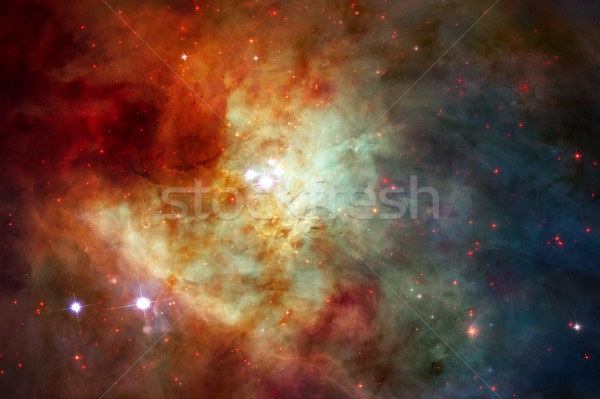 Abstract space background. Elements of this image furnished by NASA Stock photo © NASA_images