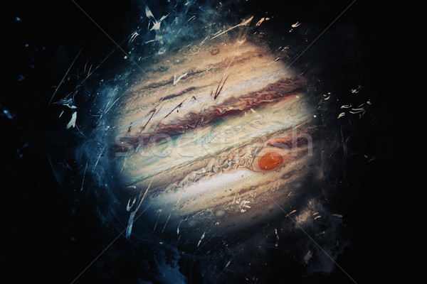 Planet Art - Jupiter. Elements of this image furnished by NASA Stock photo © NASA_images