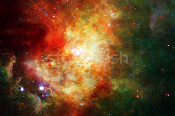 Mgławica gwiazdki przestrzeń kosmiczna elementy obraz słońce Zdjęcia stock © NASA_images