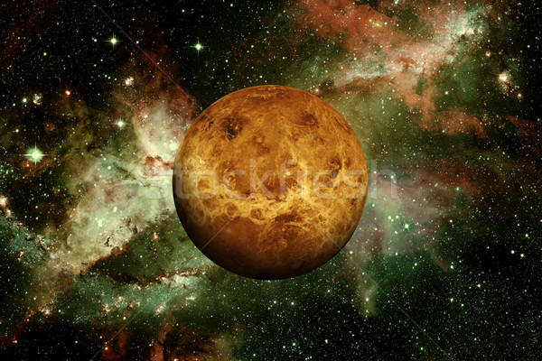 Planet Venus. Elements of this image furnished by NASA. Stock photo © NASA_images