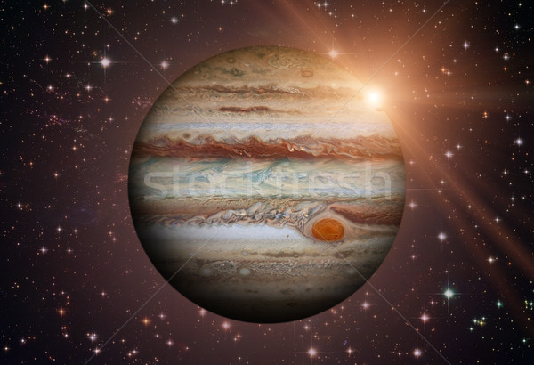 Solar System - Jupiter. It is the fifth planet from the Sun. Stock photo © NASA_images
