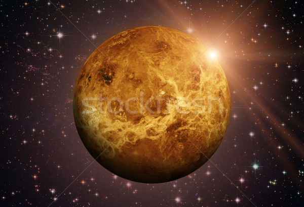 Solar System - Venus. It is the second planet from the Sun. Stock photo © NASA_images