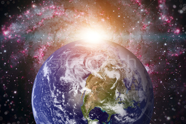 Planet Earth. Elements of this image furnished by NASA. Stock photo © NASA_images
