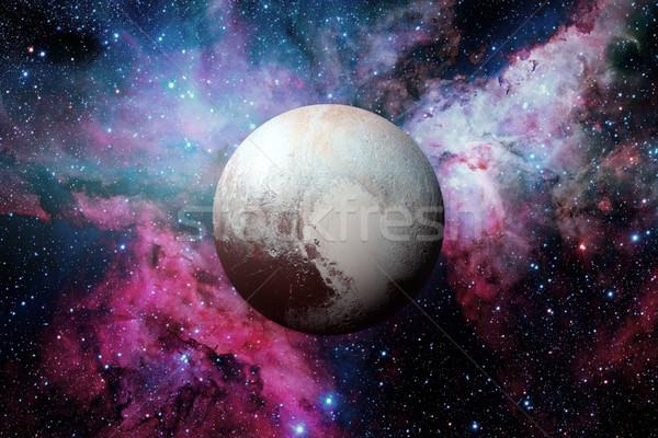 Сток-фото: Плутон · карлик · планеты · пояса · Солнечная · система · кольца